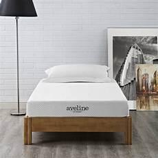 alwyn home ortiz narrow 6 quot firm memory foam mattress