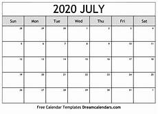 free online printable calendars 2020 printable blank july 2020 calendar on we heart it
