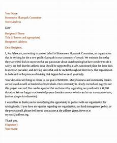 Non Profit Donation Letter Free 41 Sample Donation Letter Templates In Ms Word