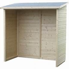 tettoia giardino kenton armadio da esterno in legno di abete cm 170x81
