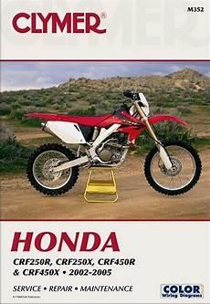 Honda Crf250r Crf250x Crf450r Crf450x Manual