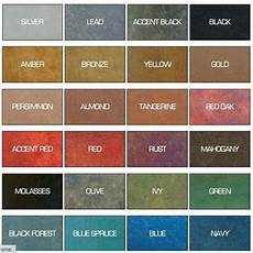 Stained Concrete Colors Chart Why This Water Based Concrete Stain Is Better Than Acid