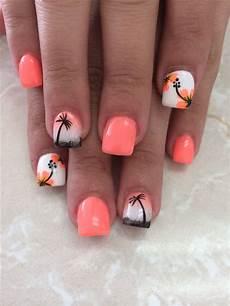 Cute Beach Toenail Designs 1568 Best Beach Nails Images On Pinterest Nail Scissors
