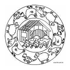 Ausmalbilder Mandala Bauernhof Bauernhof Mit Tieren Mandalas Kinder Malvorlagen Malen