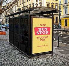 Bus Stop Poster Template 25 New Photoshop Freebies