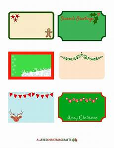 Large Labels Assortment Of Free Printable Labels For Christmas
