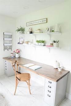 diy butcher block desk for my home office beneath my