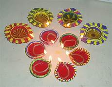 Designer Diyas Diwali Diya Pooja Thali Rangoli Decoration Ideas Amp Pictures