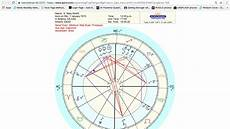 How To Get Your Natal Chart How To Cast Your Natal Chart Using Astro Com Youtube
