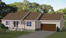 economical ranch home plan 61003ks architectural