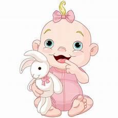 Baby Cartoons Free Baby Girl Cartoon Clipart Baby Girl With Rabbit