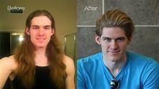 before after chris hemsworth haircut mens summer