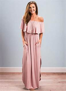solid sleeve gown dresses s boho shoulder sleeve ruffle solid maxi