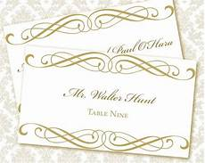 Wedding Place Cards Templates Free 6 Best Images Of Free Printable Wedding Place Cards Free