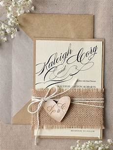 Burlap Wedding Invitations 22 Cute Burlap Wedding Invitation Ideas Weddingomania
