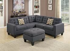 Gray Sectional Sofa 3d Image by F6935 Blue Gray Sectional Sofa Set By Poundex