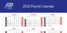 2020 Payroll Calendar Template 2020 Payroll Calendar How Many Pay Periods In A Year Adp