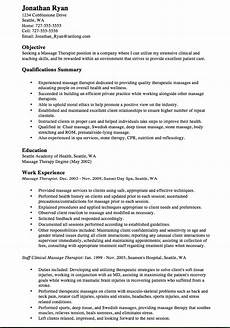 Spa Therapist Cv Perfect Spa Therapist Cv Free Resume Samples Therapist