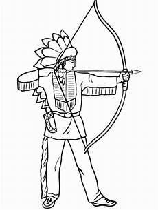 malvorlagen zum ausdrucken ausmalbilder indianer kostenlos 3