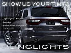2013 Dodge Durango Light Covers 2014 2015 Dodge Durango Tinted Lamp Light Overlay Kit