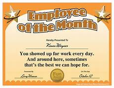 Fun Certificates For Employees Quotes About Employee Ideas 34 Quotes