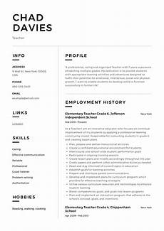 Teaching Resumes Samples Teacher Resume Amp Writing Guide 12 Samples Pdf 2019
