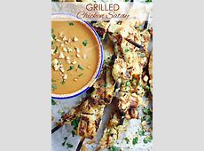 Grilled Chicken Satay   Let's Dish Recipes