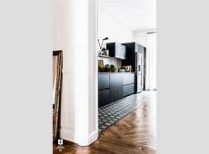mettre une rangée de carreaux de ciment sous les plaques de cuisson   Travaux maison   Parquet