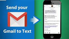 Emails To Text Messages Send Your Email As An Sms Text Message Youtube