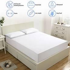 lfh 160x200cm terry waterproof mattress cover