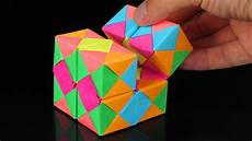 Paper Cube How To Make A Paper Infinity Cube Youtube