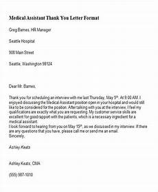 Medical Assistant Thank You Letter Examples Free 5 Sample Thank You Letters To Doctor In Pdf Ms Word