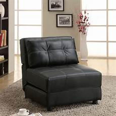 contemporary armless lounge chair sofa bed at brookstone