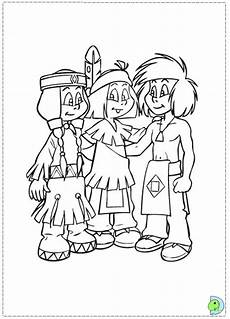 yakari coloring pages free coloring pages
