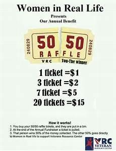 Raffle Ticket Price Aear 50 50 Raffle