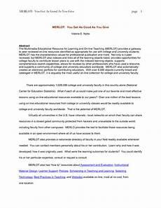 Apa Essay Format Template Apa Format Template E Commercewordpress