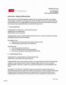 Accounts Payable Cover Letters 14 15 Accounts Payable Cover Letter Example