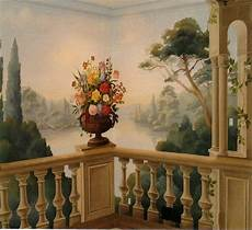 classic painted wall mural dipinti decorazioni carte