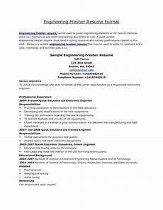 Mechanical Resume Samples For Freshers Best Resume Format Mechanical Engineers Pdf Best Resume