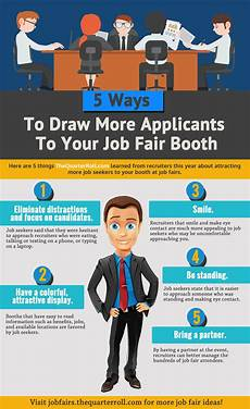 What To Take To A Job Fair 5 Ways To Draw More Applicants To Your Job Fair Booth