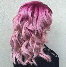 Black To Light Pink Ombre Hair 31 Colorful Hair Looks To Inspire Your Next Dye Job Stayglam
