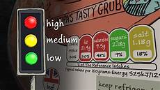 Food Packaging Traffic Light System Design And Technology Gcse What Information Is Included