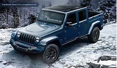 2019 jeep 4 door truck 2019 jeep wrangler dual cab ute renderings loaded 4x4
