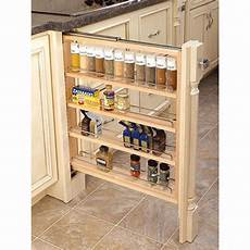 rev a shelf filler pullout organizer w adjustable shelves