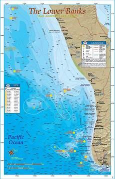Baja Charts The Lower Banks Baja Directions