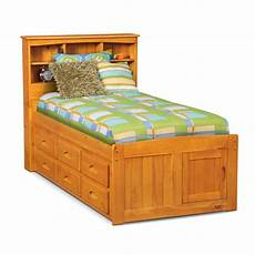 ranger bookcase bed with 6 underbed drawers pine