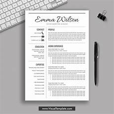 2020 Best Resume Templates 2020 2021 Pre Formatted Resume Bundle With Resume Icons