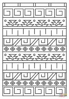 Indianische Muster Malvorlagen Ausmalbild Inka Muster Ausmalbilder Kostenlos Zum