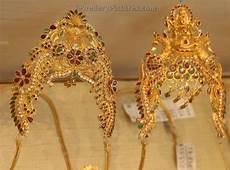 Arm Vanki Designs In Gold Beautifully Designed Arm Jewellery Enhances The Look