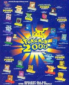 Burger King Power And Light Moltres Mmt 0727 Pokemon Power The Movie 2000 Burger King